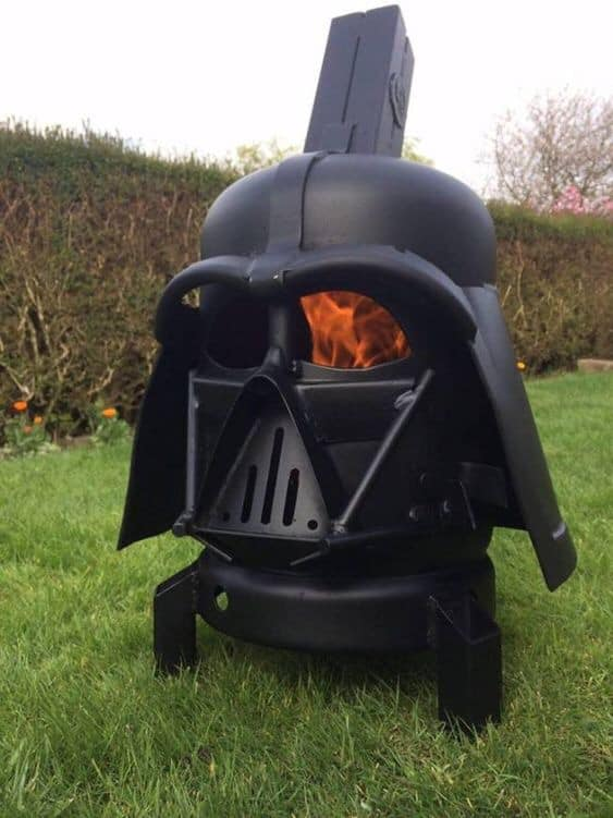 Star Wars Darth Vader Fire Pit