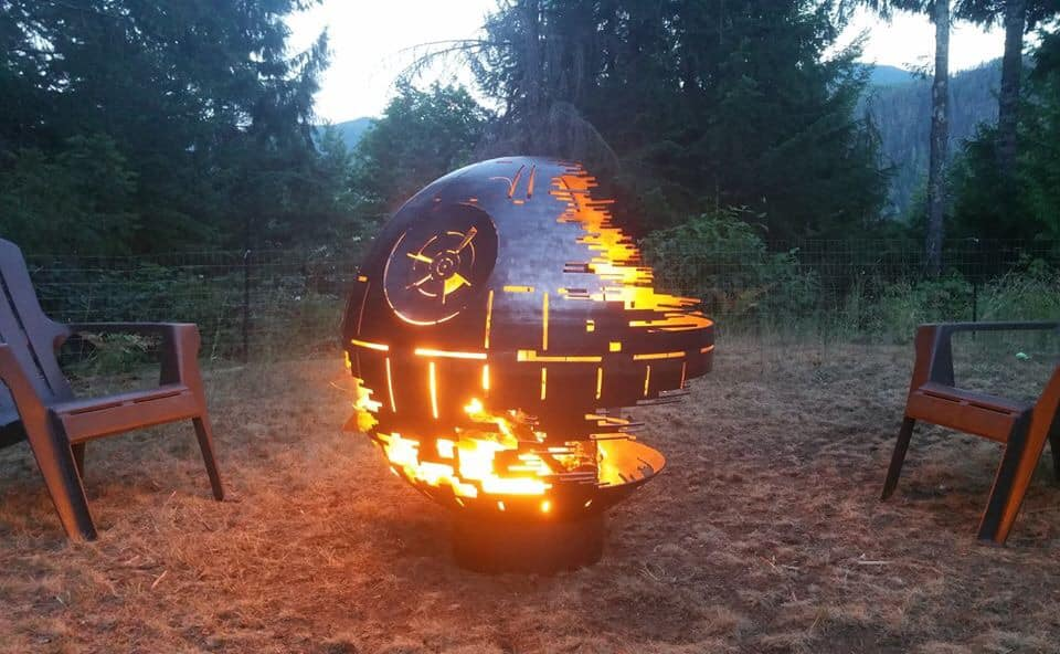Star Wars Death Star Fire Pit