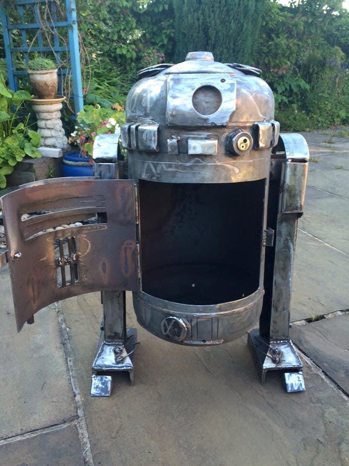 Star Wars R2-D2 Fire Pit
