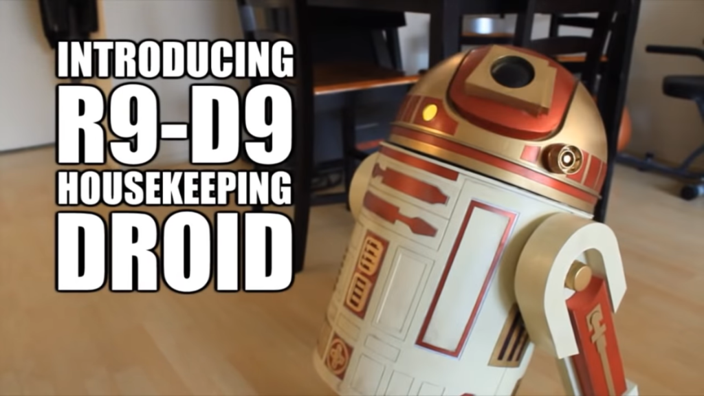 R9-D9 Housekeeping Droid