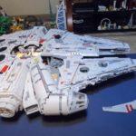 Stop Motion LEGO Millennium Falcon Build
