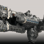 Halo Frigate Built From 25,000 LEGO Bricks