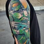 Incredible Halo Master Chief Tattoo