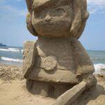 Legend of Zelda Windwaker Link Sand Sculpture