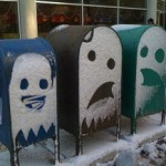 Pac-Man mail boxes [pic]