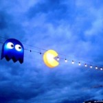 Awesome Pac-Man outdoor lighting [pic]