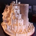 LOTR' Minas Tirith City built with 420,000 matchsticks [pic]