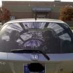 Star Wars rear window sticker [pic]
