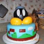 Super Mario Bros Bob-omb birthday cake [pic]