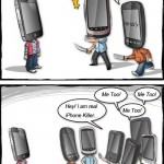 Will the real iPhone killer please step up [funny cartoon]