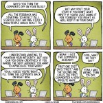 Blog Comments: On or Off?  [cartoon]