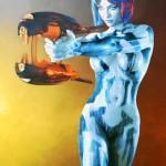Spectacular Halo Cortana cosplay [pic]