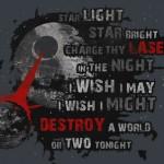 Star Wars Death Star Star Bright, Star Light t-shirt [pic]