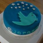 Yummy Twitter Birthday Cake [pic]
