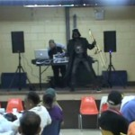 Darth Vader Salsa Dances and Plays the Trombone