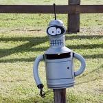 Futurama Bender Mailbox [pic]