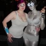 Awesome Futurama Leela and Bender cosplay [pic]