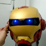 Awesome Iron Man Motorcycle Helmet [pic + video]