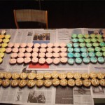 The Periodic Table of Elements made from cupcakes [pic]
