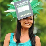 Crazy iPad Hat Spotted At The Royal Ascot [pic]
