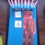 Doctor Who TARDIS Birthday Cake [pic]