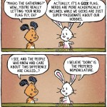 The Difference Between Geeks, Nerds and Dorks [comic]