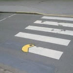Pac-Man Eats Crosswalks [pic]
