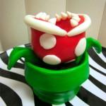 Super Mario Bros Piranha Plant Cupcake [pic]