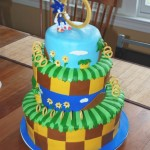Sonic the Hedgehog Cake [pic]