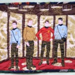 Star Trek The Original Series Transporter Beam Quilt [pic]