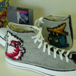 Final Fantasy Knit Converse Chuck Taylor Sneakers [pic]