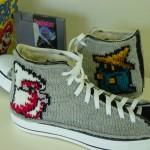 Final Fantasy Knit Converse Chuck Taylor Sneakers [pic]