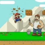 Wow, Mario really is a jerk [cartoon]