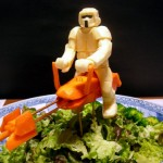 Star Wars Scout Trooper Made From Vegetables [pics]