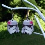 Star Wars Stormtrooper Earrings [pic]