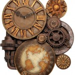 Steampunk Wall Clock [pic]