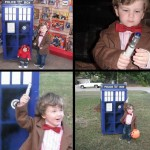 Little Kid Doctor Who Cosplay With TARDIS [pics]