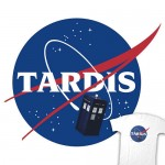 Replace The Space Shuttle With The TARDIS Shirt [pic]