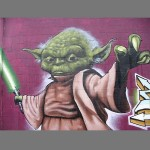 Yoda Street Art [pic]
