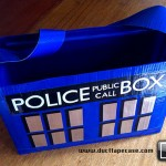 Doctor Who TARDIS Duct Tape Bag [pic]
