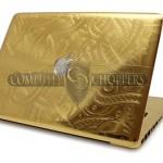 24-Karat Gold Apple MacBook Pro [pics]