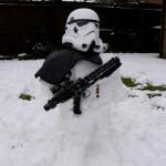 Stormtrooper Snow Sculpture [pic]