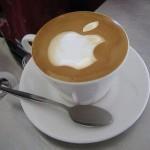 Apple Logo Latte Art [pic]