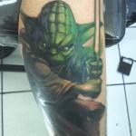Star Wars Jedi Master Yoda Tattoo [pic]
