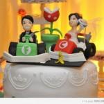 Mario Kart Themed Wedding Cake Topper [pic]