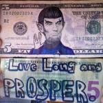 Spock $5 Bill [pic]