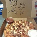 Spock Pizza Box Art [pic]