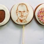 Apple and Steve Jobs Cake Pops [pic]