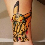 Pikachu R2-D2 Tattoo [pic]