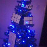 TARDIS Christmas Tree [pic]
